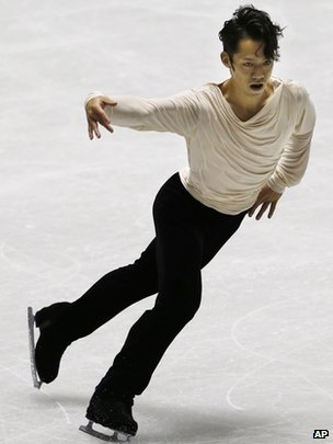 Daisuke Takahashi is due to compete for Japan at the Sochi Games.jpg